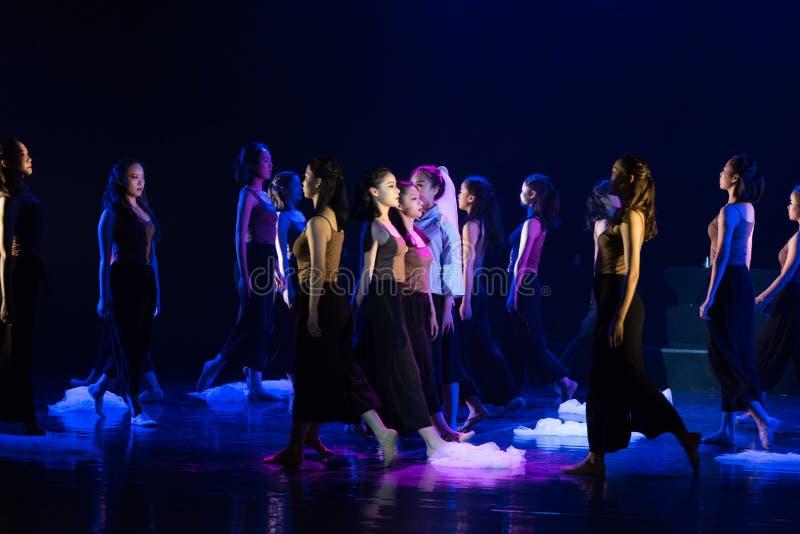 迷路2--舞蹈戏曲驴得到wate 免版税库存图片