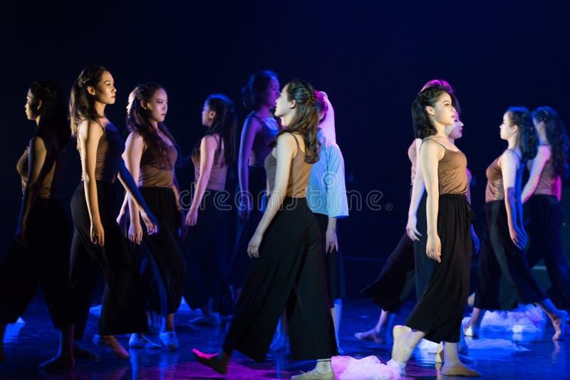 迷路1--舞蹈戏曲驴得到wate 库存照片