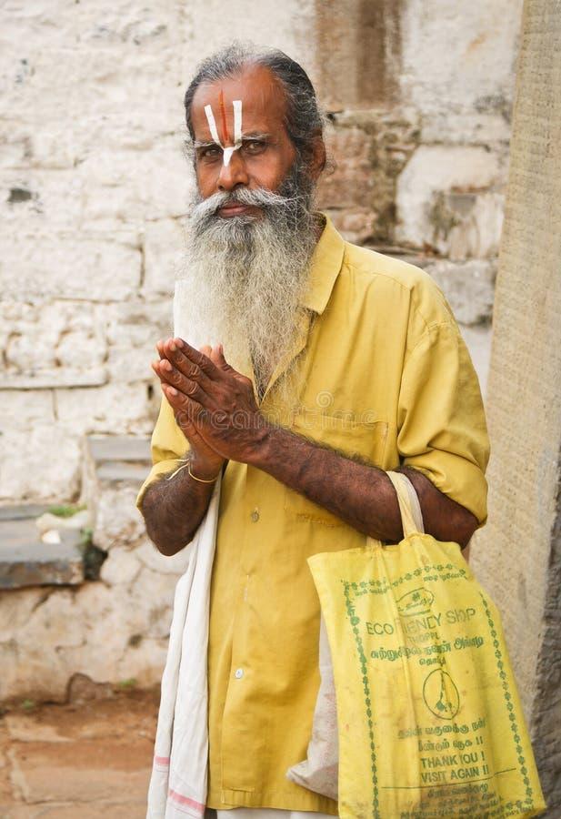 追随者印度vishnu 图库摄影