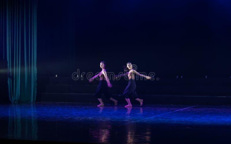 追随者2--舞蹈戏曲驴得到水 免版税库存照片