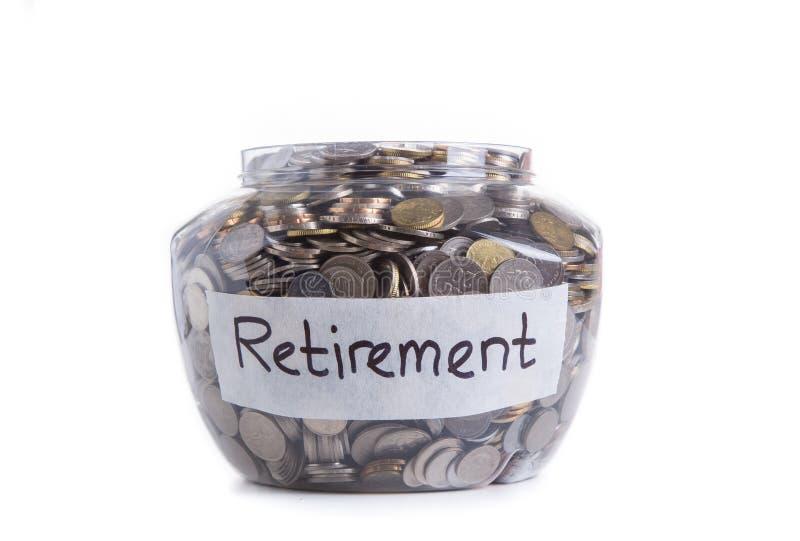 退休储款 免版税图库摄影