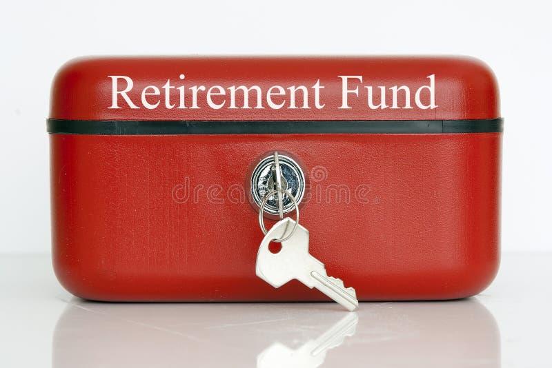退休基金 库存照片