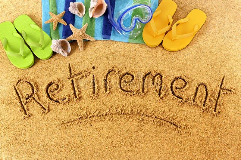 退休海滩文字