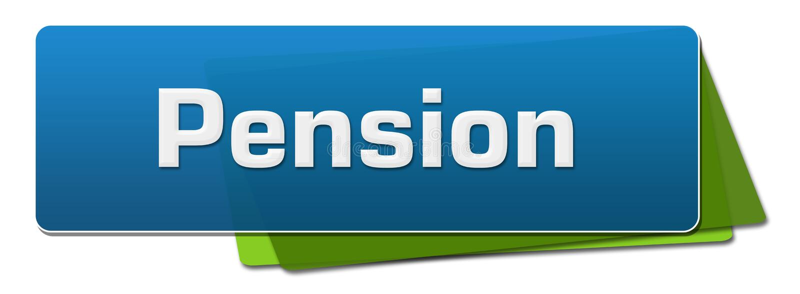 退休金青绿的被环绕的正方形 库存例证