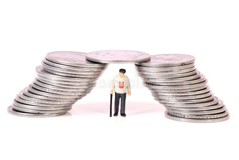 退休金 免版税库存照片