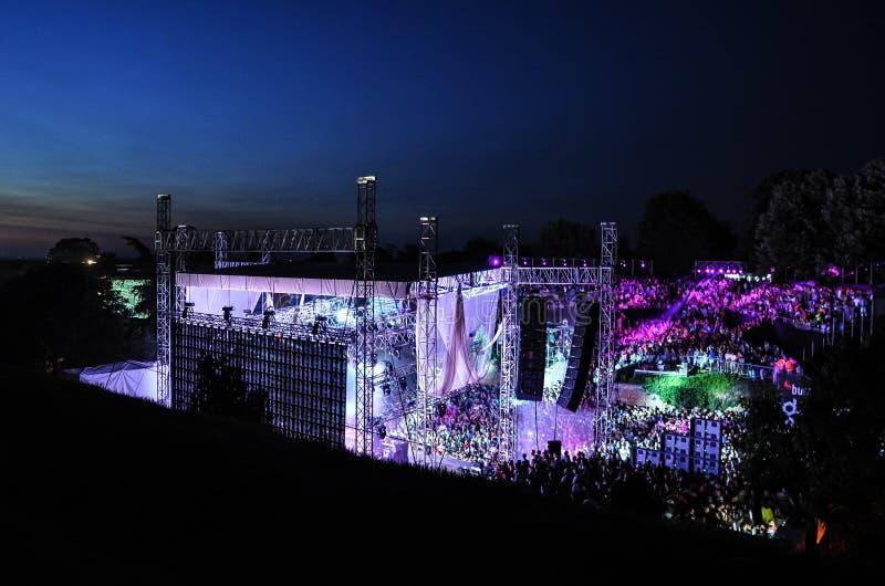 退出音乐节2013年 免版税库存照片