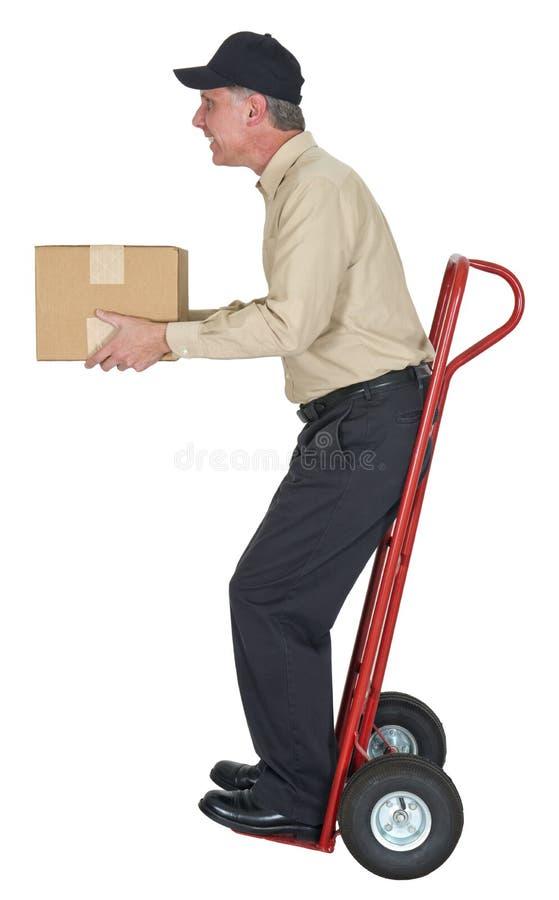 送货人,移动,运费,发运,程序包 免版税库存照片
