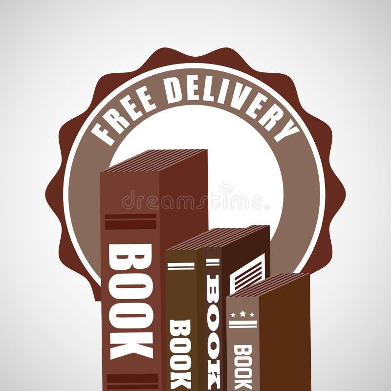 送货业务书 向量例证