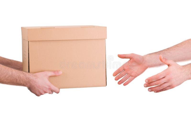 送货人。 免版税图库摄影