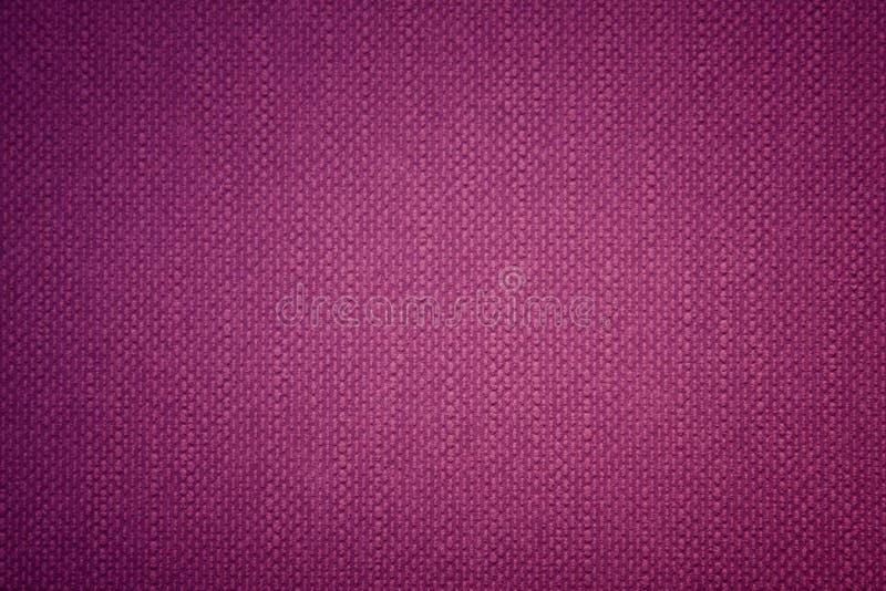 适合任何设计的紫色复古平面布背景 库存图片