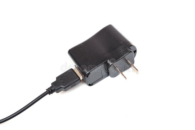 适配器充电器 库存照片