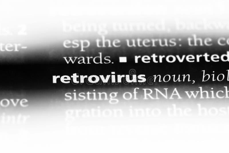 逆转录酶病毒 库存照片