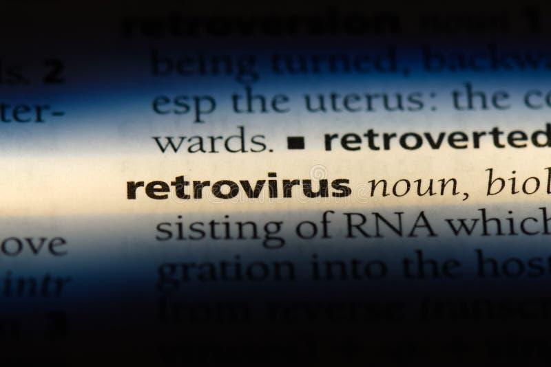 逆转录酶病毒 免版税库存照片