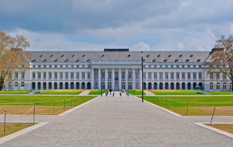 科布伦茨选举人的宫殿  免版税库存图片