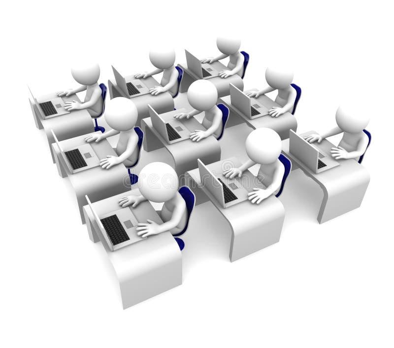 选件类计算机概念教育培训 库存例证