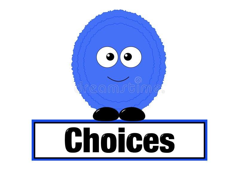 选择概念 免版税库存图片