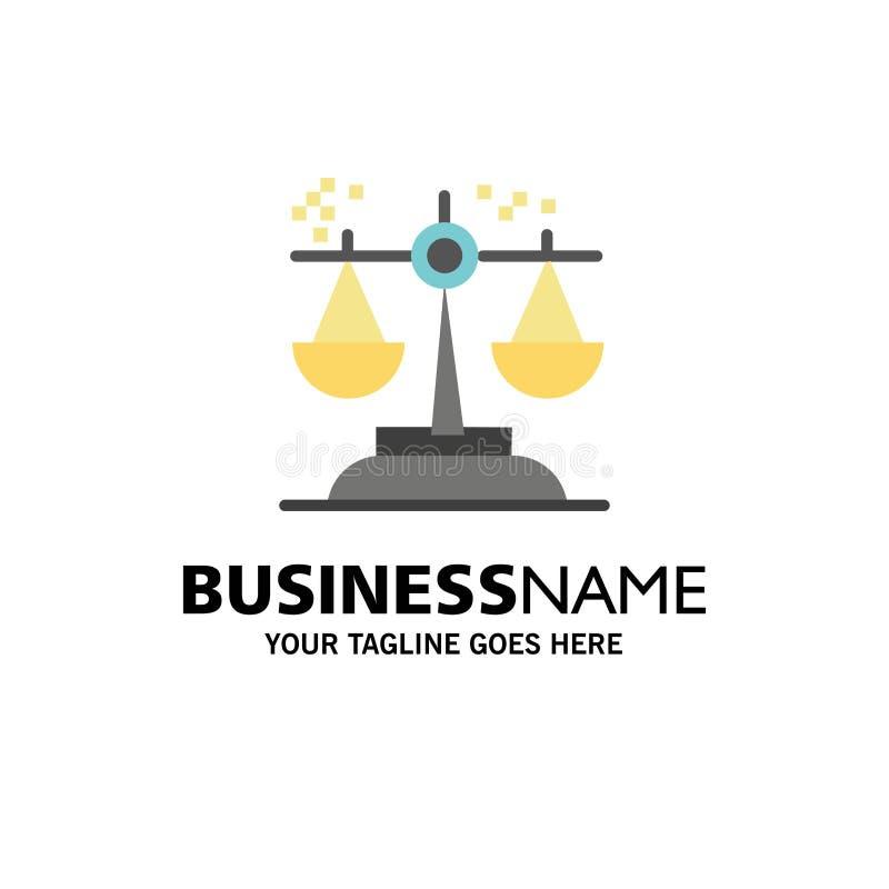 选择,结论,法院,评断,法律企业商标模板 o 向量例证