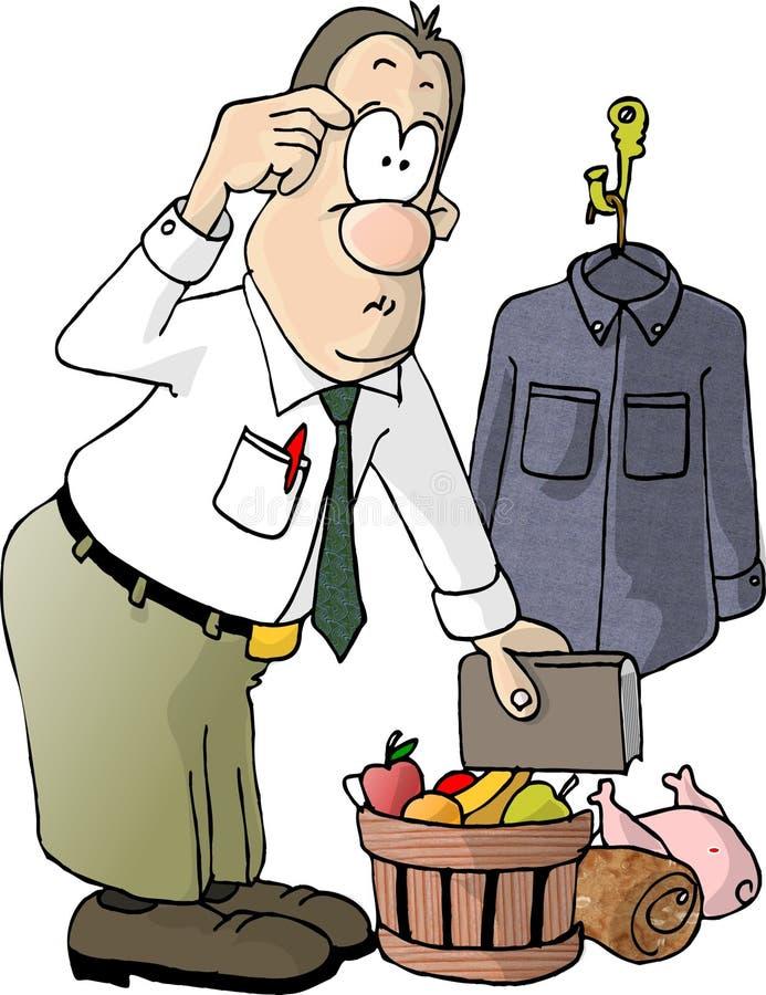 Download 选择 库存例证. 插画 包括有 工作, 衬衣, 火鸡, 动画片, 工作者, 幽默, 火腿, 钉书匠, 礼品, 圣诞节 - 54896