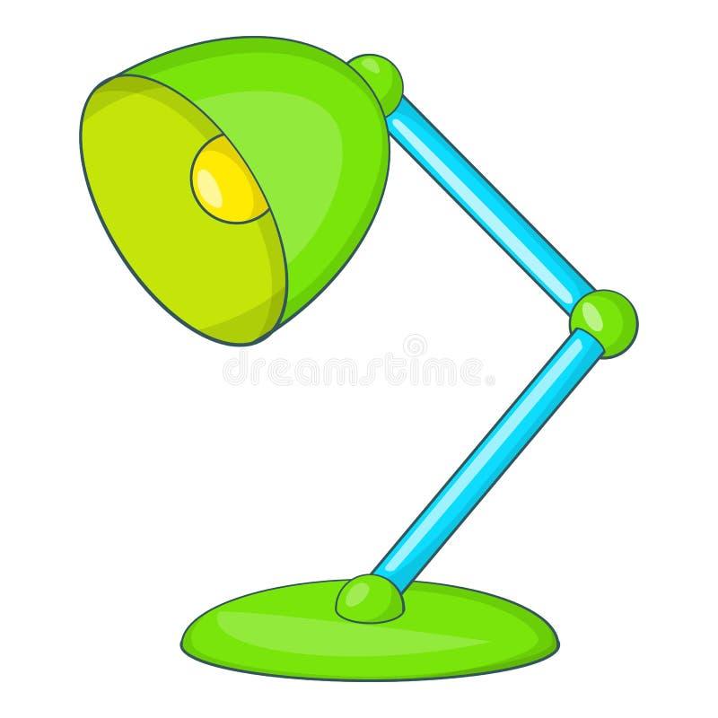 选材台灯象,动画片样式 向量例证