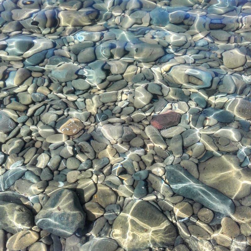 透明水 免版税库存照片