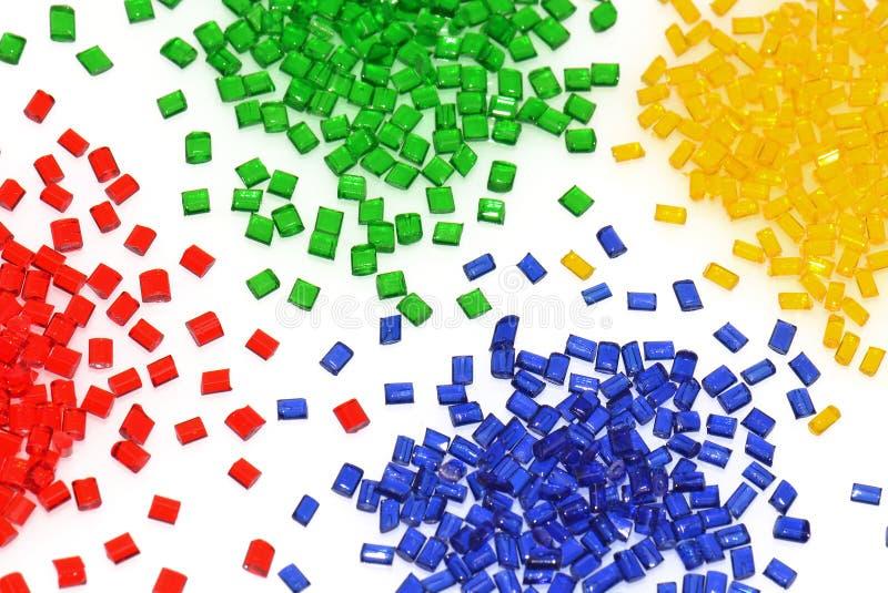 透明聚合物的树脂 库存图片