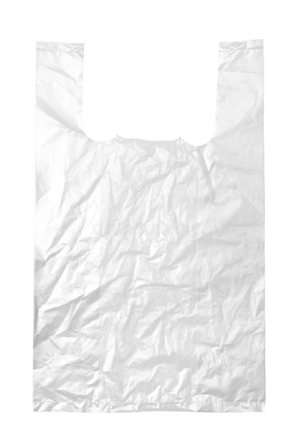 透明袋子的塑料 免版税图库摄影