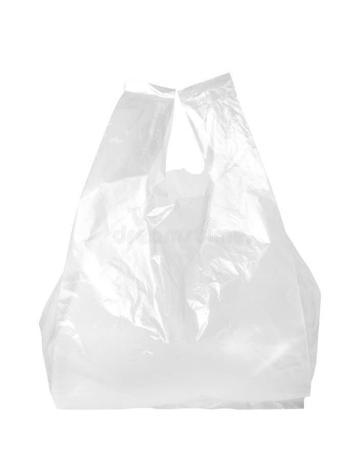透明袋子的塑料 库存照片