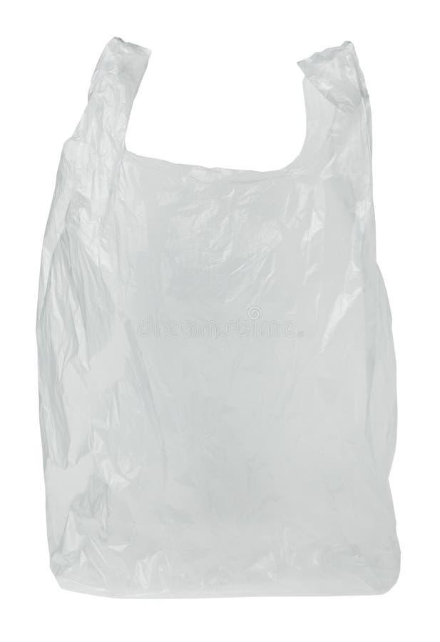 透明袋子的塑料 免版税库存照片