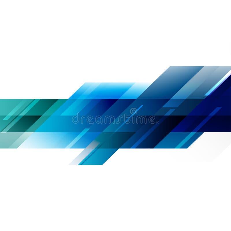 透明重叠几何在白色和空间文本的 皇族释放例证