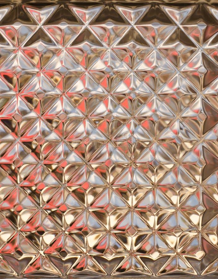 透明玻璃墙纹理 库存照片