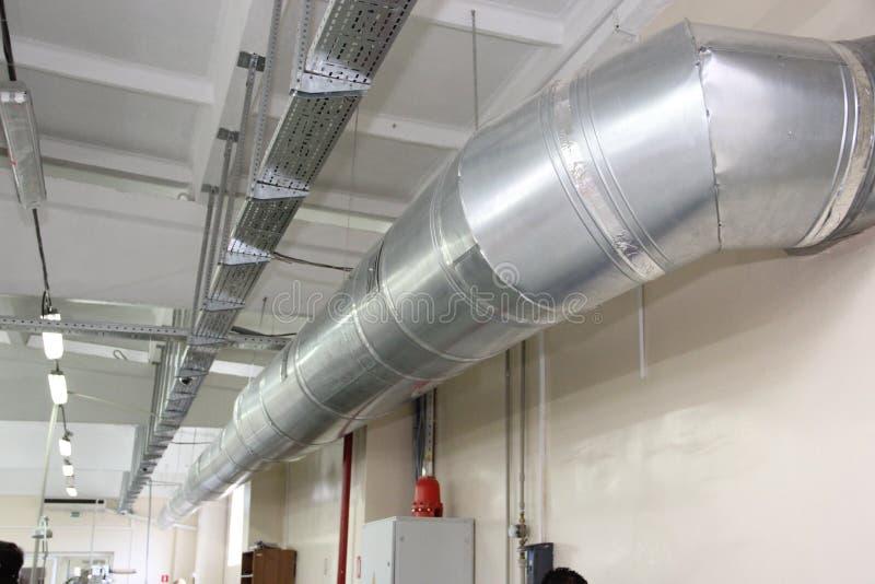 透气和空调的冷却系统 免版税库存图片