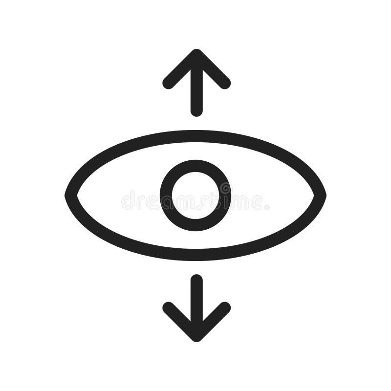 透视图 向量例证