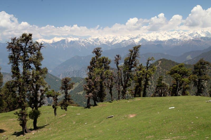 透镜中的印度景观 库存图片