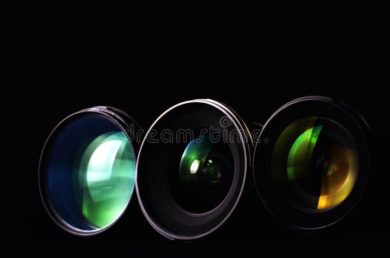 透镜摄影 图库摄影