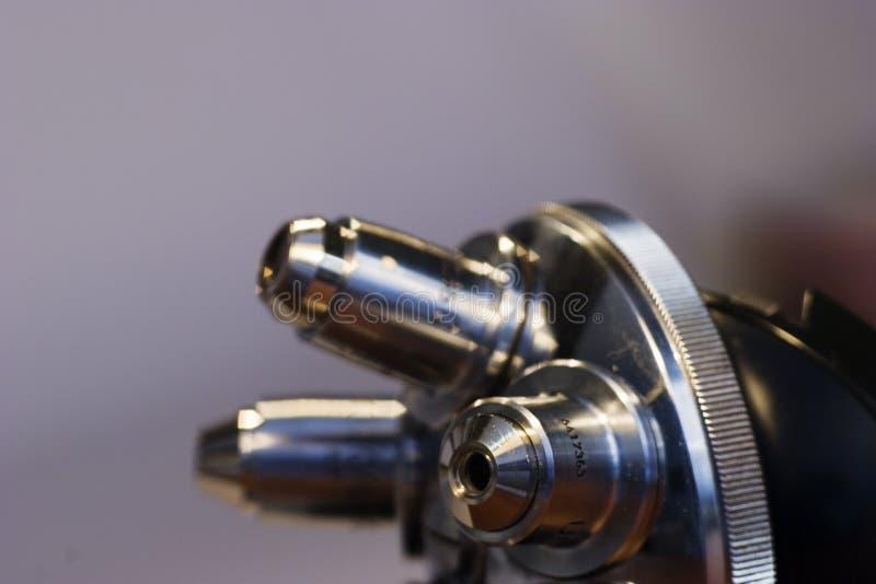 透镜显微镜 库存图片