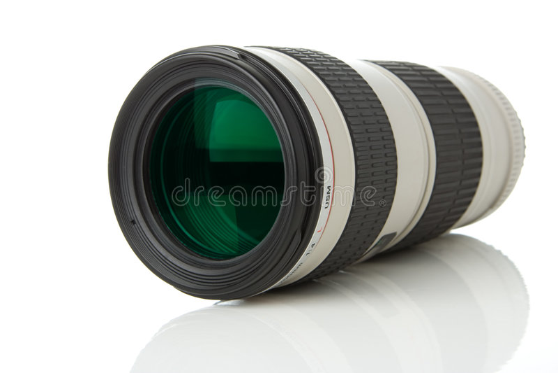 透镜现代照片 库存照片