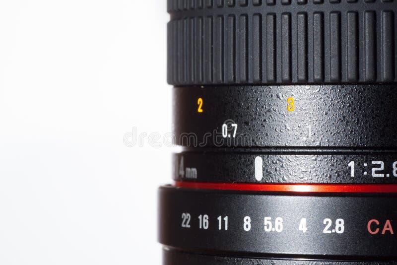 透镜细节 库存照片