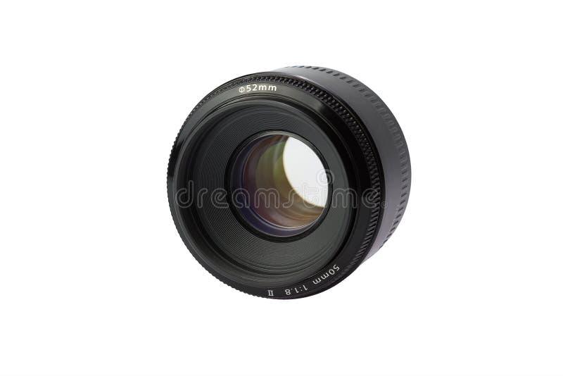 透镜50mm/1 8 免版税库存照片
