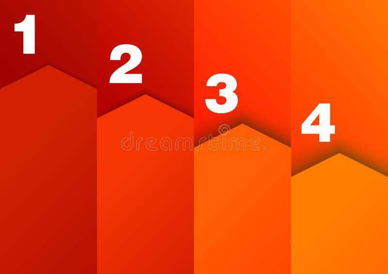 Download 逐步-进展图 向量例证. 插画 包括有 编号, 手工, 纸张, 水平, 创造性, 特殊, 简单, 现代, 选项 - 30331744