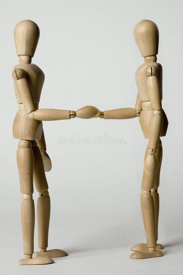 递人震动木 免版税库存图片