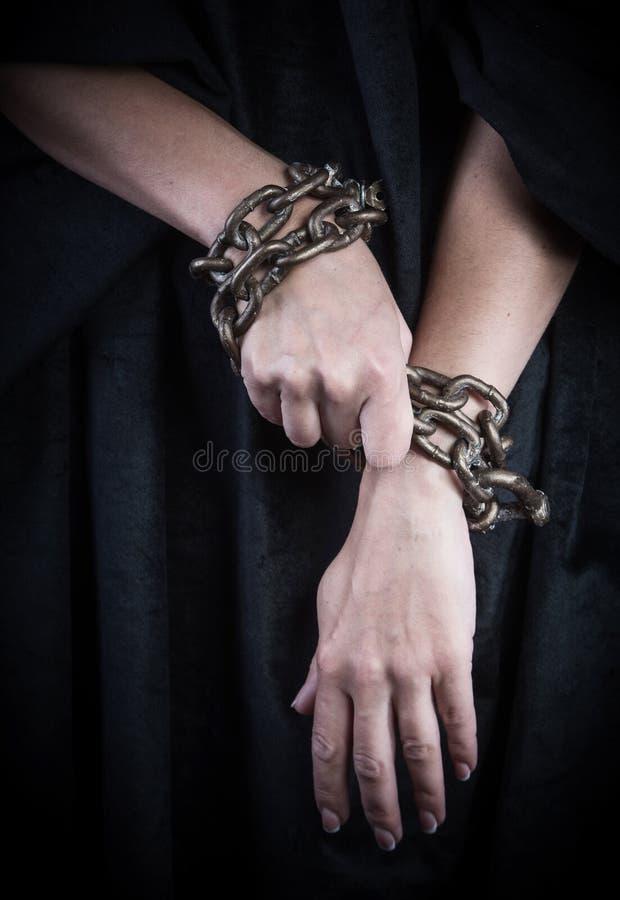 递被囚禁 免版税图库摄影