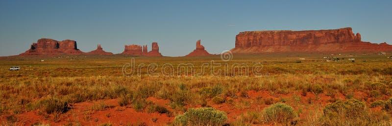 途径印第安纪念碑那瓦伙族人公园部&# 库存照片