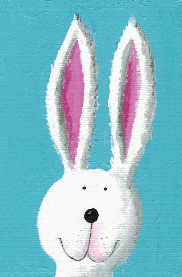 逗人喜爱的兔子 向量例证