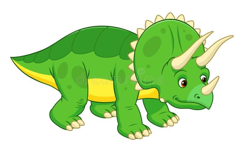 逗人喜爱的动画片三角恐龙图片