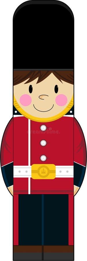 逗人喜爱的动画片英国皇家卫兵. 乐趣, 皇家.