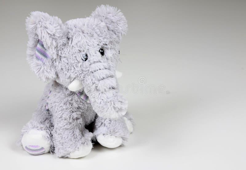 逗人喜爱的大象玩具 免版税库存图片