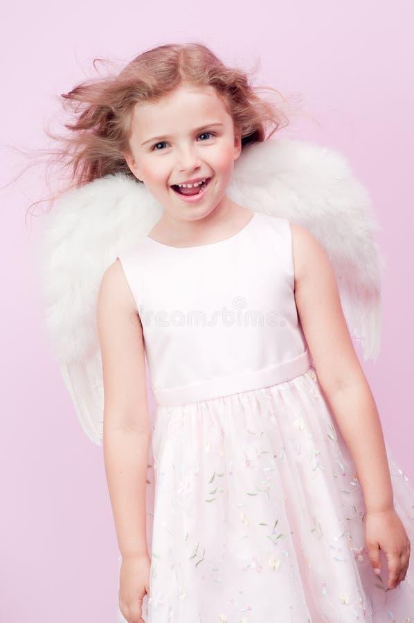 逗人喜爱的天使 图库摄影