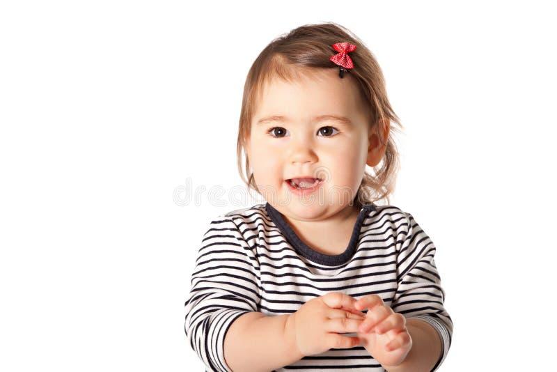 逗人喜爱的女孩 免版税库存图片