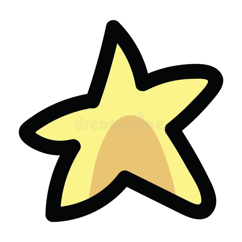 逗人喜爱的星动画片传染媒介例证主题集合 星球博克的手拉的被隔绝的星系元素clipart 皇族释放例证