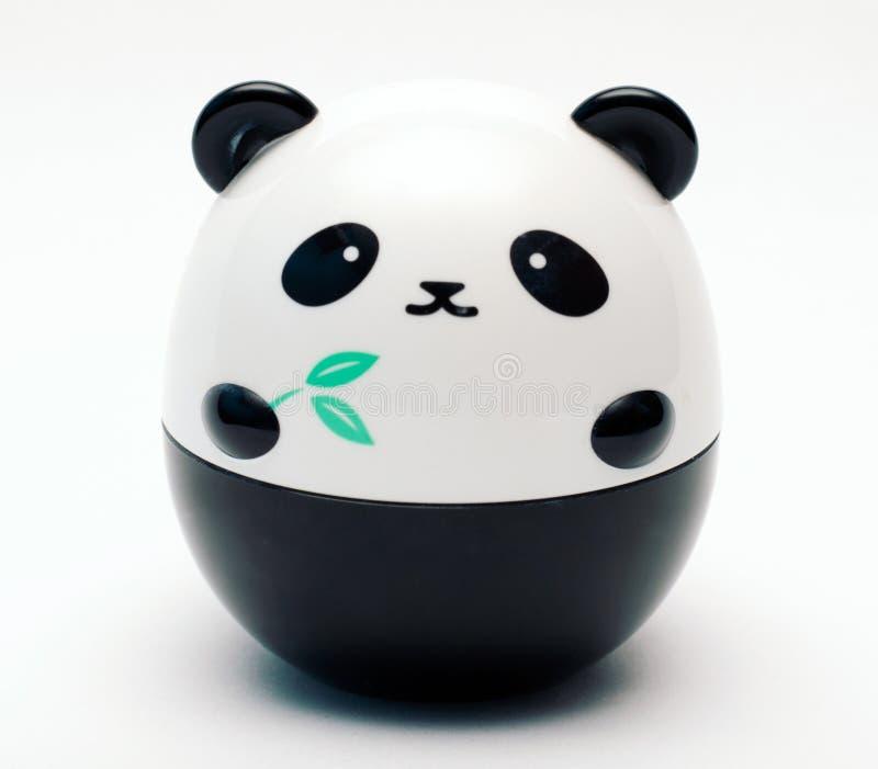 逗人喜爱的熊猫接收者 免版税库存照片